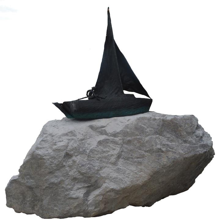 """""""Espíritu de Aventura"""" Escultura por Federico León De La Vega"""